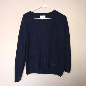 Sweaters - blue knit sweater 🙂